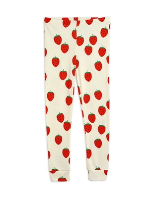 Strawberry aop leggings - Offwhite