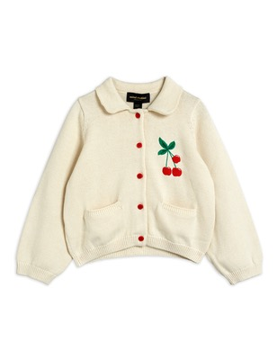 Cherry cardigan- Offwhite