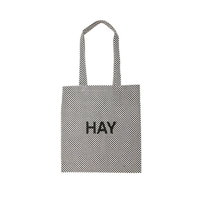 Hay Cotton Bag (Check) 에코백