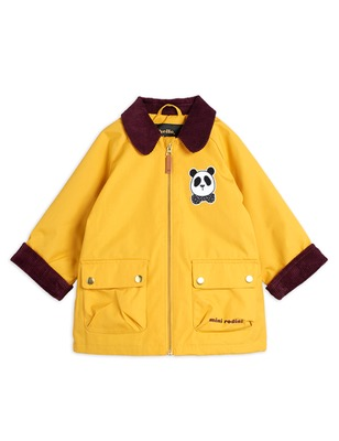 padded country jacket - yellow
